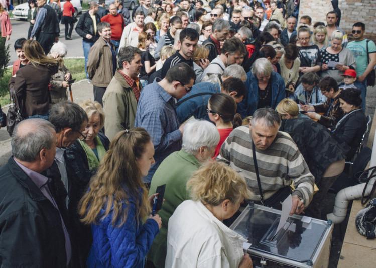 """референдум"""" """"ДНР"""" у Маріуполі 11 травня 2014 року"""