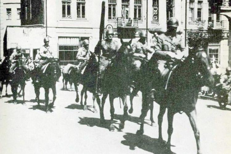 Итальянцы на лошадях 1942 год