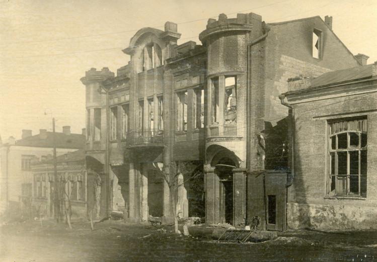 разрушения в Луганске во второй мировой войне 1943 год