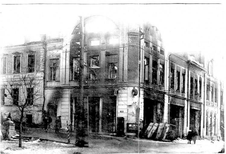 Освобожденный Луганск 1943 год